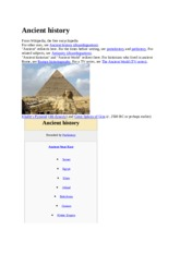 Ancient history week 1.docx
