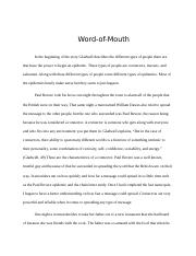 word of mouth.docx