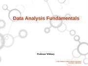 Data Analysis  Fundamentals