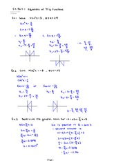 Part 1 Equations of Trig Functions