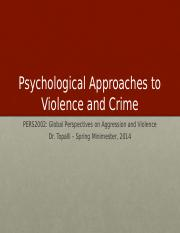 Psychological Theories-Spring 2014 (2)