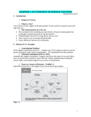 Tax I Outline & MC Qts Ch 1-3(2)