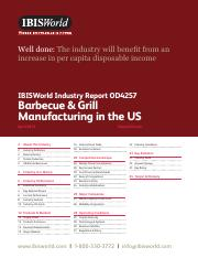 OD4257 Barbecue & Grill Manufacturing Industry Report
