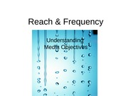 10 Message Breadth and Depth; Basic Media Objectives