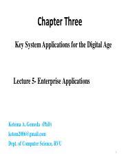 MBA BADM-621 : management information system - ሪፍት