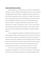 responsible leadership essay