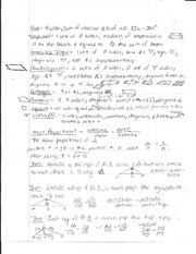 Theorems for Shapes Study Sheet