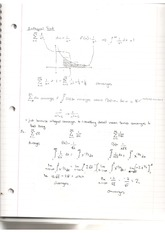 Notes on Integral Test for Series with In-Class Example