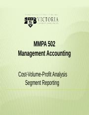 3. Cost-Volume-Profit Analysis & Segment Reporting(1).pptx
