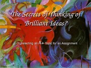 The_Secret_of_Creating_Brilliant_Ideas2