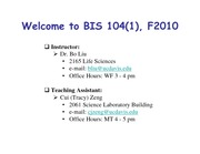 BIS104_F10_Lecture2