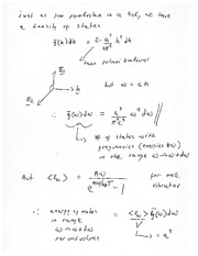 PHYSICS 150 Lecture Notes Stephan's Law