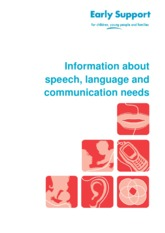 Information about speech, language and communication needs