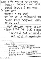PSYCH 2820 - Reasoning
