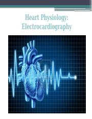 Lab #3 Electrocardiogram and Peripheral Circulation (2)