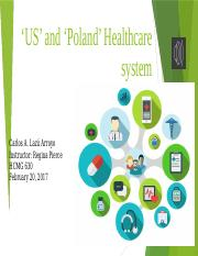 US' and 'Poland' Healthcare system(1)