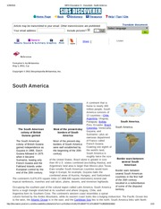 SIRS Discoverer ® _ Document _ South America