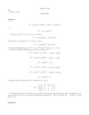p571 midterm 10 solution