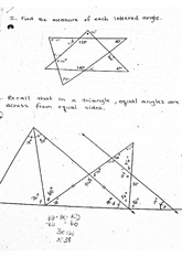 Printables Geometry Honors Worksheets honors geometry angle measurements worksheet 1 i