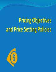Pricing Objectives1.ppt