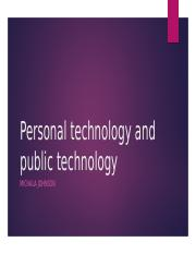 POWER POINT PERSONAL PUBLIC TECHNOLOGIES