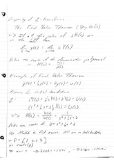Properties of Laplace Transforms