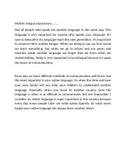 Mother tongue importance.docx