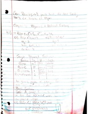 Polynomial Functions class notes