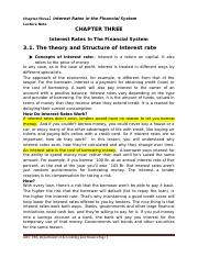 Chapter-3-Interest Rates In The Financial System.docx