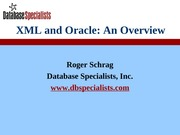 xml_and_oracle