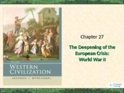 Chapter 27 World War II