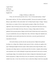 A Pathway to a Better Life Essay 1.docx