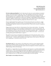 Radical revision essay