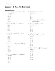 4.6 Systems of Equations