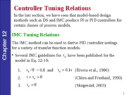 KING FAHD UNIVERSITY CHEMICAL ENGINEERING COURSE NOTES (Process Control)-Lec32