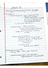 Chapter 2: Managerial Accounting and Cost Concepts