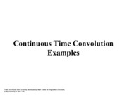 EE3TP4_11c_CTConvolutionExamples_Lecture 15