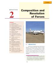 chp-02 composition n resolution of forces