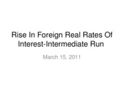 11-03-15-Rise in Foreign Interest Rates-Intermediate run