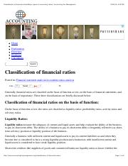 Classification of financial ratios:Major types of accounting ratios | Accounting For Management.pdf