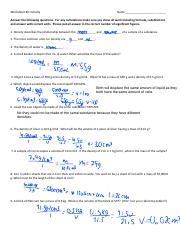 density and sig figs worksheet.pdf - Worksheet#2:Density ...