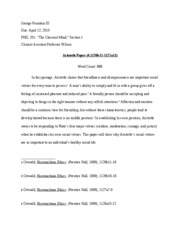 Aristotle Paper Final Draft