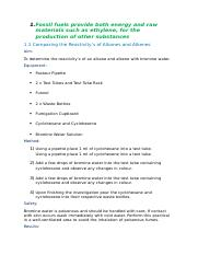 HSC Chemistry Practicals - Production of Materials.docx