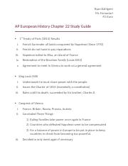 Chapter 22 Euro Study Guide.docx