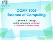 Lecture_07_Arrays