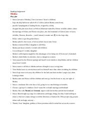 Reading Assignment-Medea play plot.docx