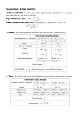 186839246-Precalculus-Conic-Sections