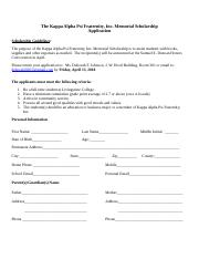 The Kappa Alpha Psi Fraternity Memorial Scholarship Application (1).docx