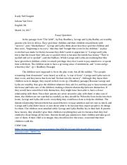 Biographical narrative essay rubric