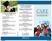 CARE Student Assistance Brochure